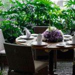 terraza jardin privado