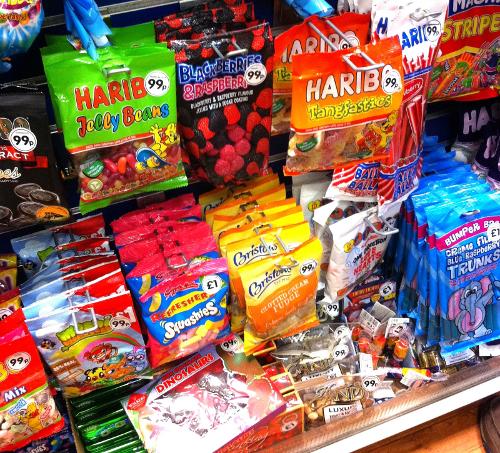 Chuches en supermercados