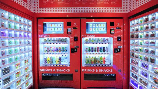 Vending vs. tiendas de chuches